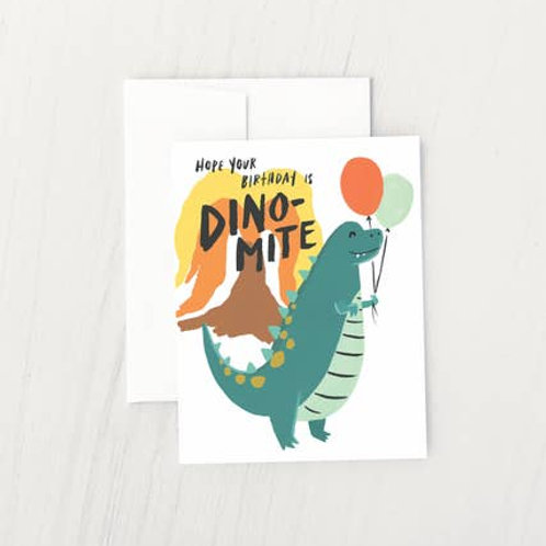 Hope Your Birthday is Dino-Mite! by Idlewild