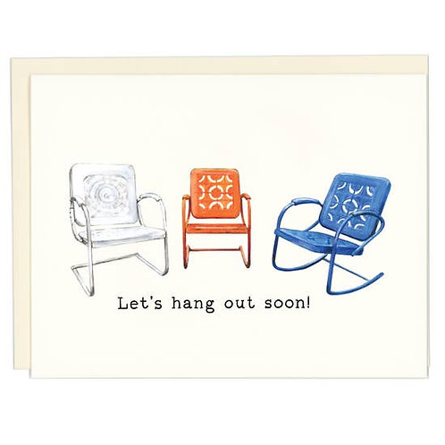 Let's Hang Out Soon by Good Postage