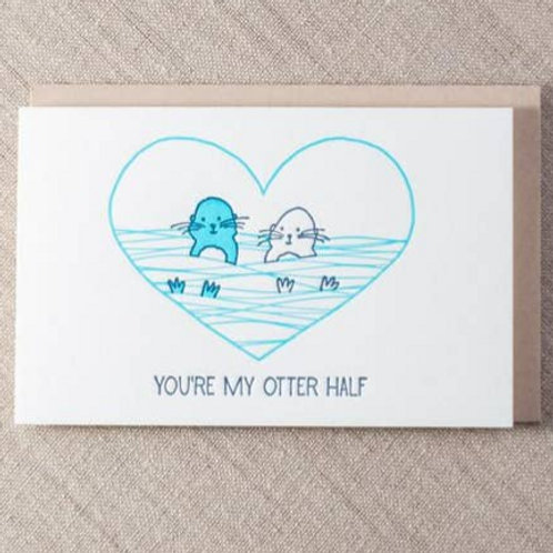 You're my otter half By Pike St. Press