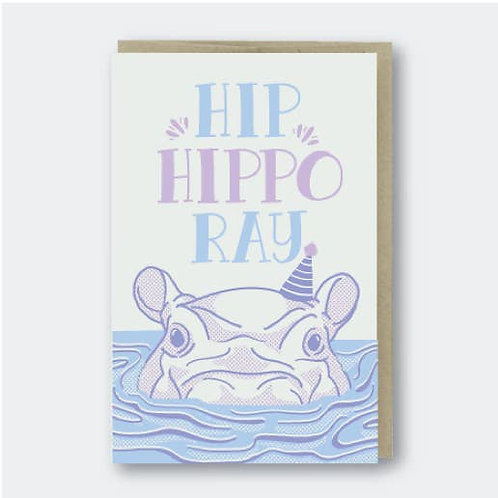 Hip Hippo Ray by Pike St. Press