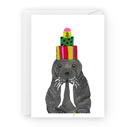 Walrus with Presents