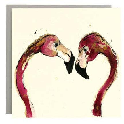 Flamingo Love by Anna Wright