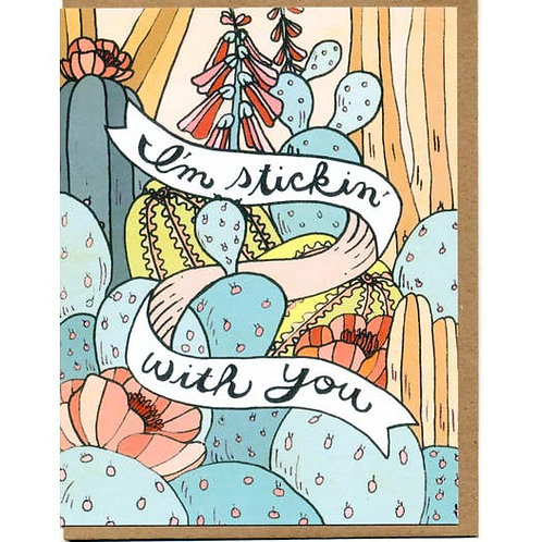 I'm stickin with you - by Mattea