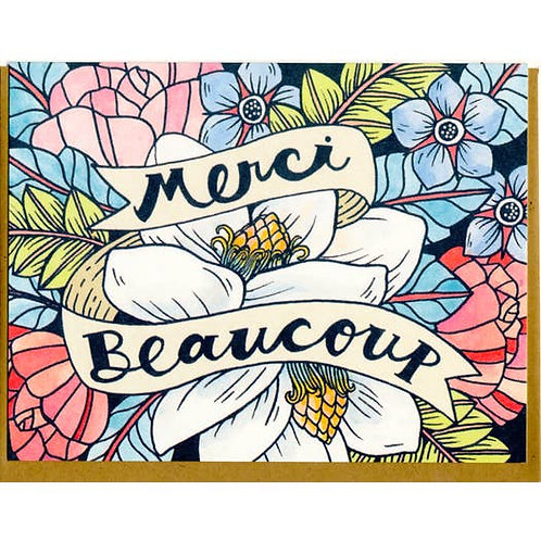 Merci Beaucoup - by Mattea