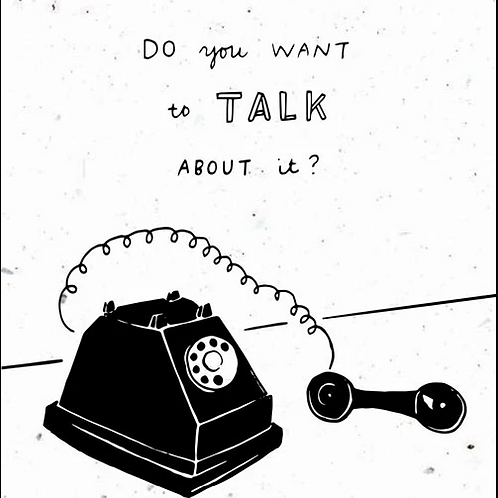 Want to Talk About It? - by Thoughtful Human