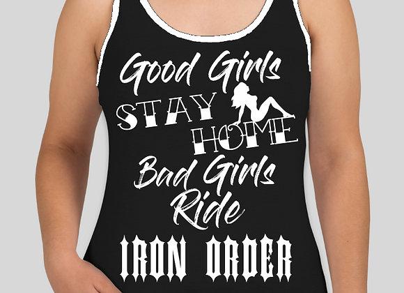 RideIO Female Tank Maiden
