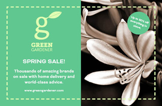 Green Gardener Postcard Flyer