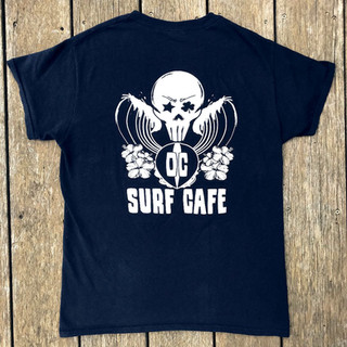 OC Surf Cafe Tee- Back