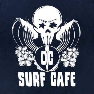 OC Surf Cafe T-shirt- Close Up