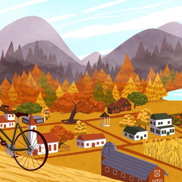 Fall- Original Illustration