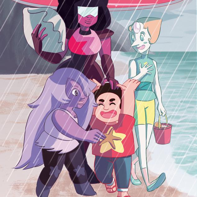 Steven Universe- Rainy Day