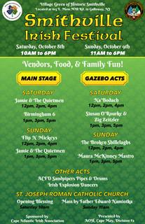 Smithville Irish Festival Poster 2017