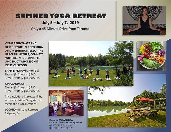 Yoga Retreat with Rajaa