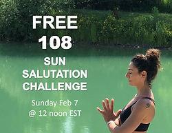 Free Sun Salutation Challenge