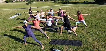 Mississauga Outdoor Yoga