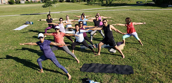 Mississauga Outdoor Yoga