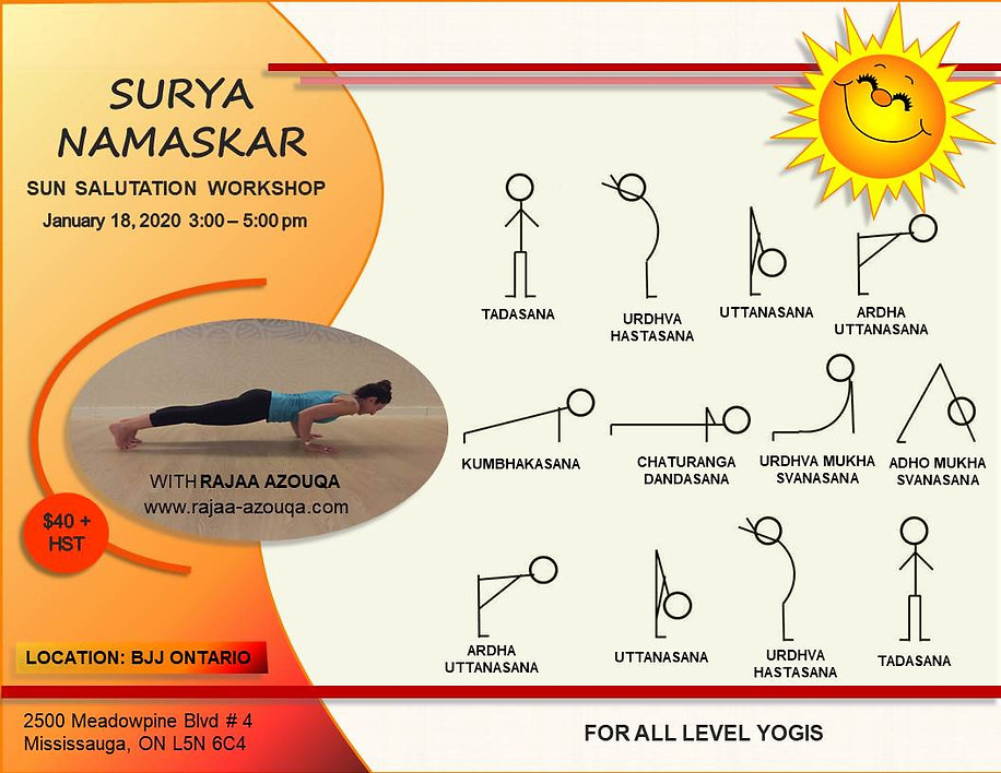 Sun Salutation Workshop