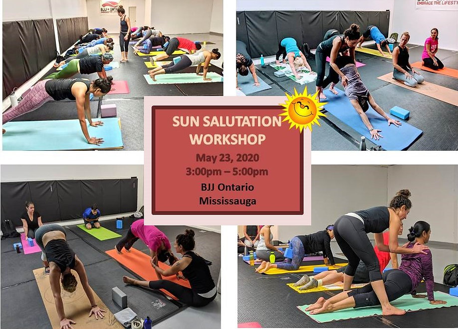 Sun Salutation with Rajaa
