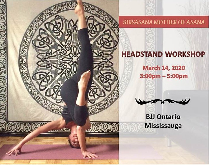Headstand Workshop with Rajaa