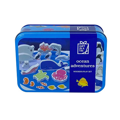 Ocean Adventures in  a Tin