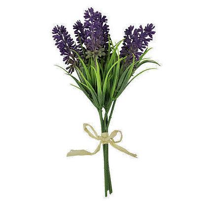 Bunch Faux Lavender - Gisela Graham