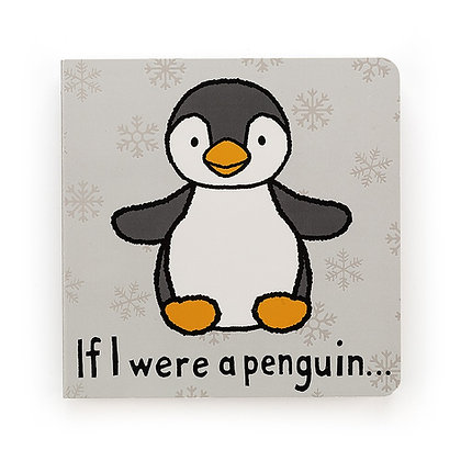 If I Were a Penguin Board Book - Jellycat