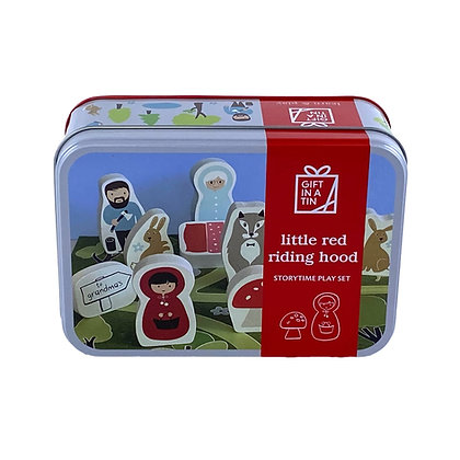 Little Red Riding Hood - Storytime Tin