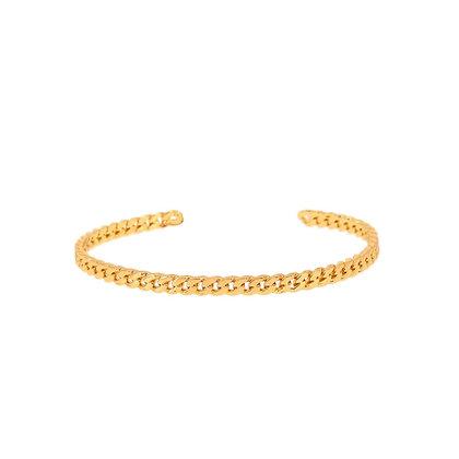 Dansk Copenhagen Infinity Gold Bracelet