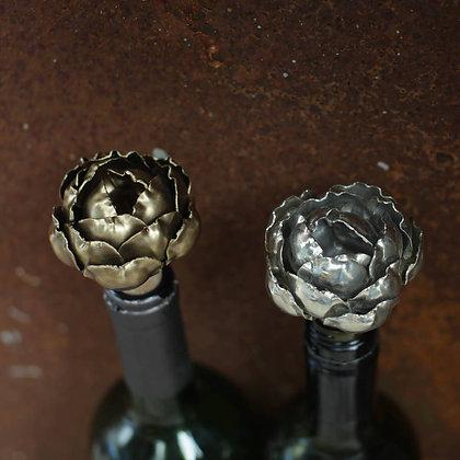 Vintage Rose Wine Bottle Stop - Nkuku