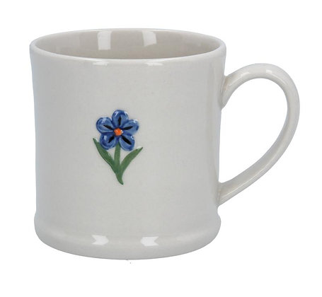 Ceramic Mini Mug Forget-Me-Not - Gisela Graham