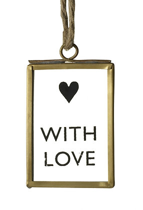 WITH LOVE FRAME