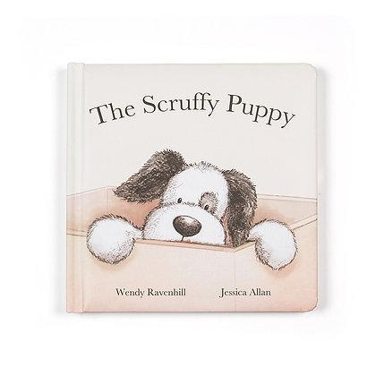 Scruffy Puppy Book - Jellycat