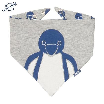 Ponko Penguin Reversible Bib - Organic Cotton - Kite Clothing