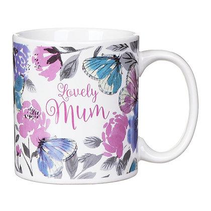 Lovely Mum Ceramic Mug - Gisela Graham