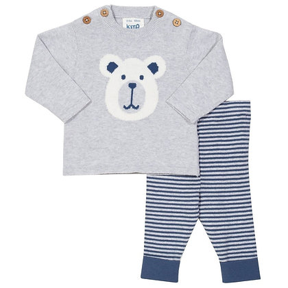 Beary Knit Set - Organic Cotton - Kite Clothing