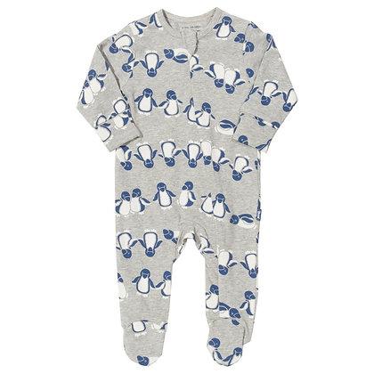 Ponko Penguin Sleepsuit - Organic Cotton - Kite Clothing
