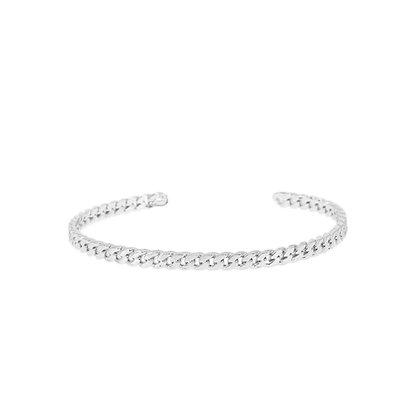 Dansk Copenhagen Infinity Silver Bracelet