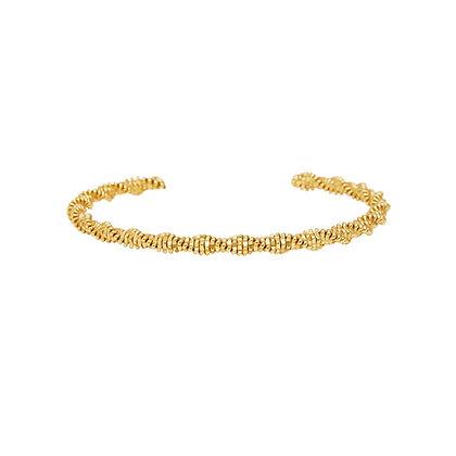 Dansk Copenhagen Cliff Gold Bracelet