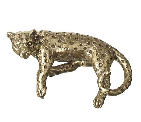 Gold Leopard Animal Pot Hanger - Parlane International