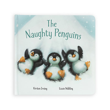 The Naughty Penguins Book - Jellycat
