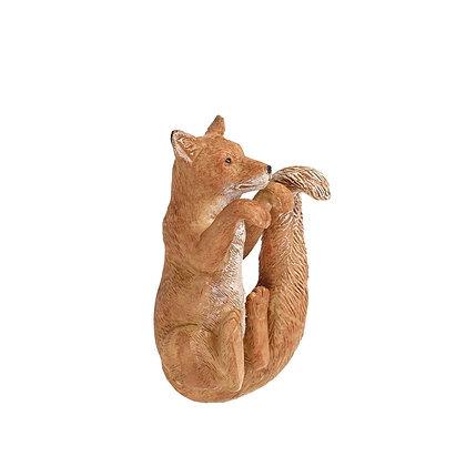 Brown Fox Animal Pot Hanger - Parlane International