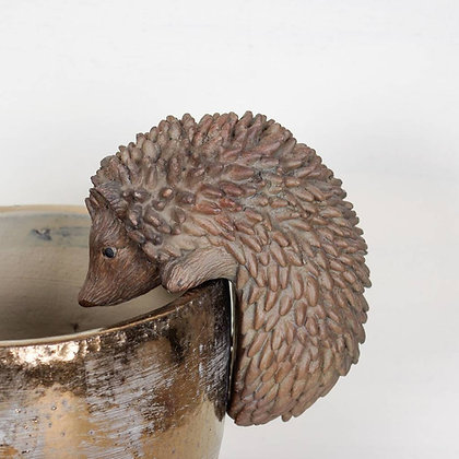 Hedgehog Animal Plant Pot Hanger - Parlane