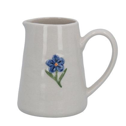 Ceramic Mini Jug Forget-Me-Not - Gisela Graham