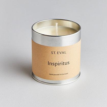 Inspiritus Scented Candle Tin - St Eval