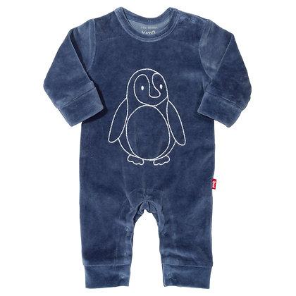 Velvety Penguin Romper - Kite Clothing