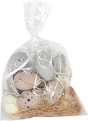 Set of 12 Mini Speckled Easter Eggs - Gisela Graham