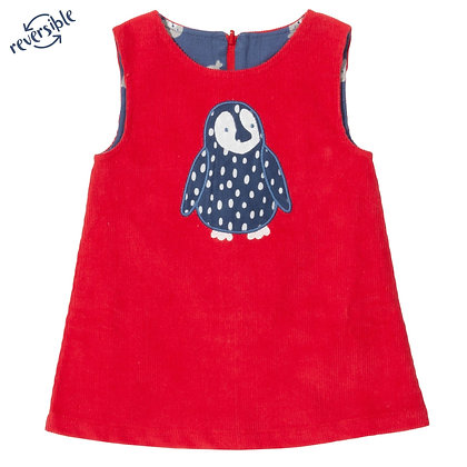 Penguin Reversible Dress - Organic Cotton - Kite Clothing