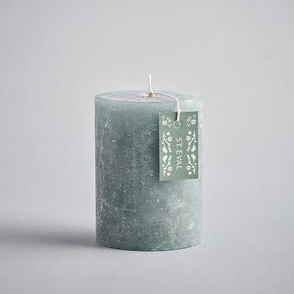 "Lemon & Thyme Folk 3""x4"" Scented Pillar Candle - St Eval"