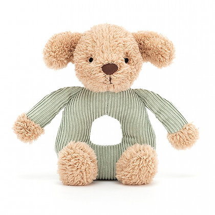 Jumble Puppy Grabber Rattle - Jellycat