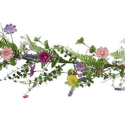 Spring Meadow Wild Flower Garland - Gisela Graham